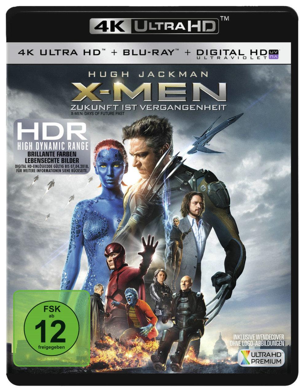 X-Men: Zukunft ist Vergangenheit 4K (2014) - (4K Ultra HD & Blu-ray)