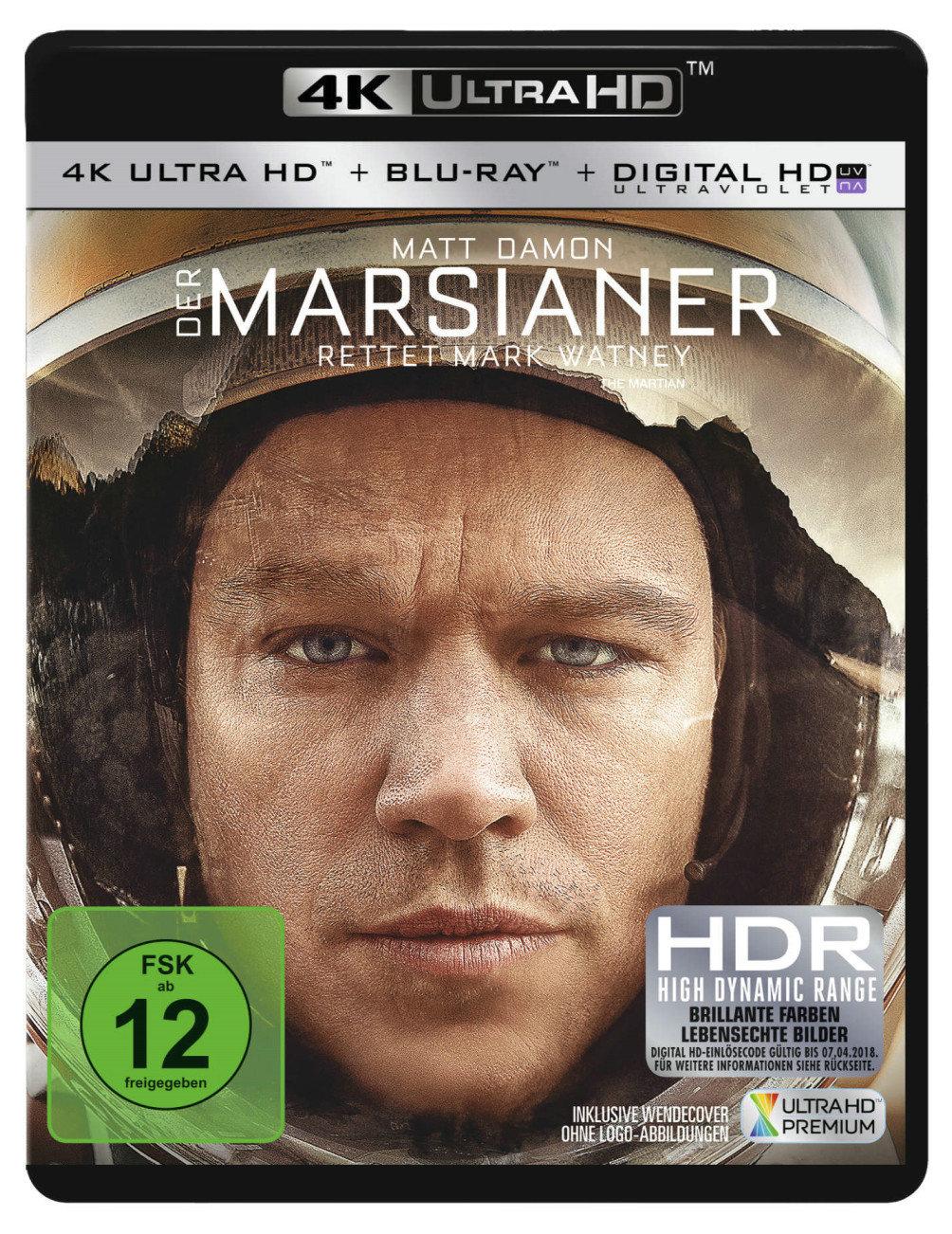 Der Marsianer - Rettet Mark Watney 4K (2015) - (4K Ultra HD & Blu-ray)