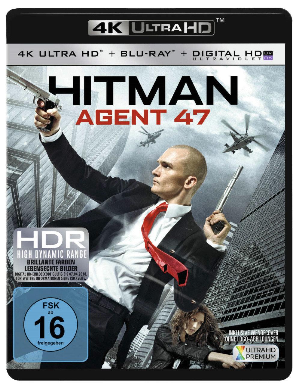 Hitman - Agent 47 4K (2015) - (4K Ultra HD & Blu-ray)