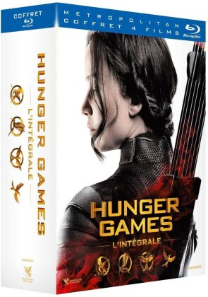 Hunger Games - L'intégrale (Limited Edition, 8 Blu-rays)