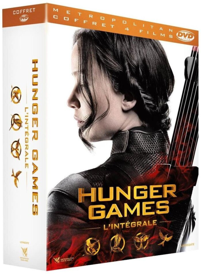 Hunger Games - L'intégrale (Limited Edition, 9 DVDs)