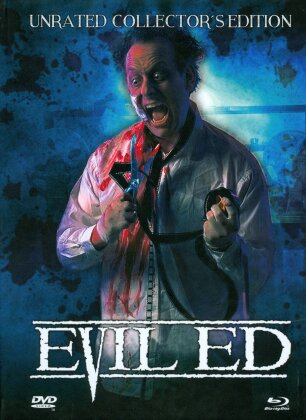 Evil Ed (1995) (Cover C, Collector's Edition, Limited Edition, Mediabook, Uncut, Unrated, Blu-ray + DVD)