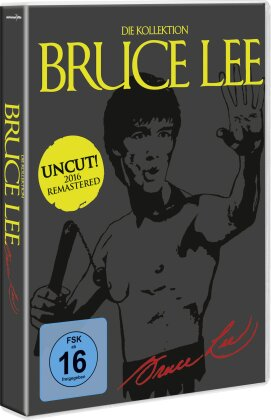 Bruce Lee - Die Kollektion (Remastered, Uncut, 5 DVDs)