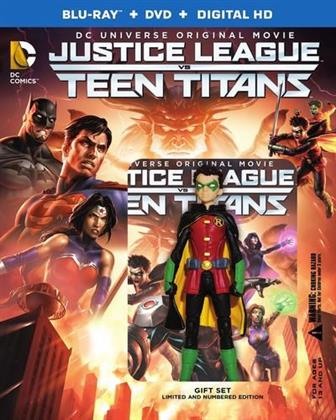 Justice League vs Teen Titans (2016) (Deluxe Edition, Blu-ray + DVD)