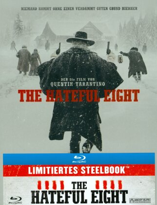 The Hateful Eight (2015) (Schweizer Version, Limited Steelbook)