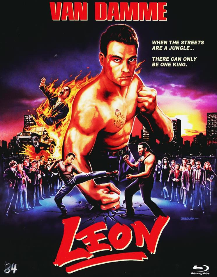 Leon (1990) (Scary Metal Collection, MetalPak, Director's Cut, Uncut)