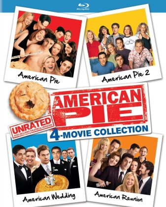 American Pie - 4-Movie Collection (Unrated, 4 Blu-rays)