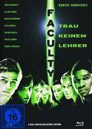 Faculty (1998) (Cover C, Limited Collector's Edition, Mediabook, Blu-ray + DVD)