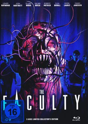 The Faculty (1998) (Cover A, Limited Collector's Edition, Mediabook, Blu-ray + DVD)