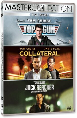 Tom Cruise Collection - Top Gun / Collateral / Jack Reacher (Master Collection, 3 DVDs)