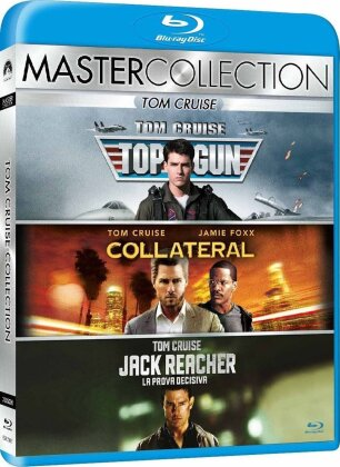 Tom Cruise Collection - Top Gun / Collateral / Jack Reacher (Master Collection, 3 Blu-rays)