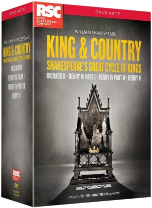 King & Country - Shakespeare's Great Cycle of Kings (Opus Arte, Cofanetto, 4 DVD) - Royal Shakespeare Company