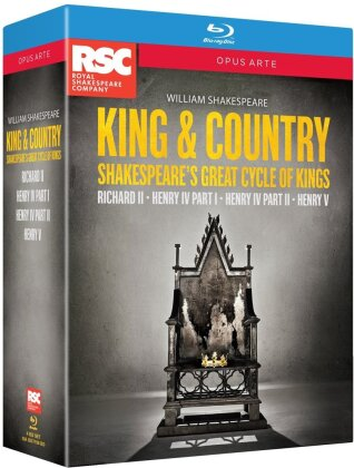 King & Country - Cycle of Kings (Opus Arte, Cofanetto, 4 Blu-ray) - Royal Shakespeare Company