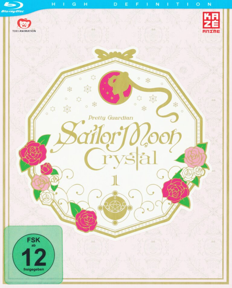 Sailor Moon Crystal - Vol. 1 - Staffel 1.1 (+ Sammelschuber, Limited Edition)