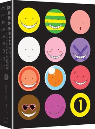Assassination Classroom - Season 1.1 (Limited Edition, 2 Blu-rays + 2 DVDs)