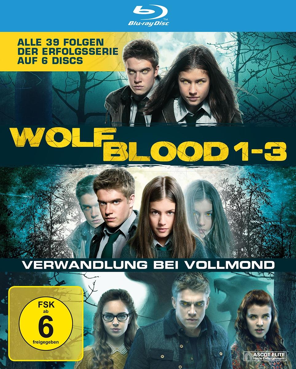 Wolfblood - Staffeln 1-3 (6 Blu-rays)