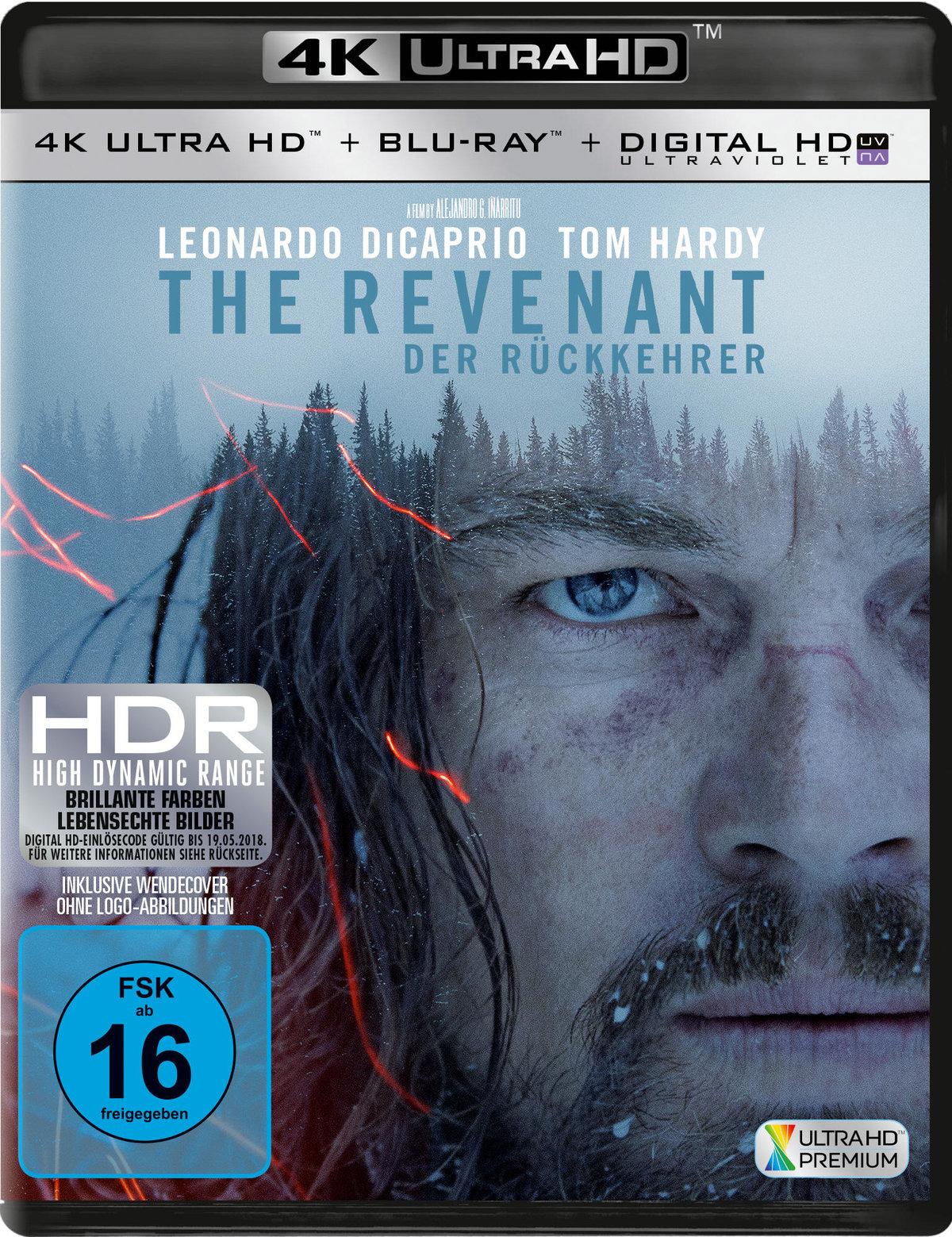 The Revenant - Der Rückkehrer 4K (2015) - (4K Ultra HD & Blu-ray)