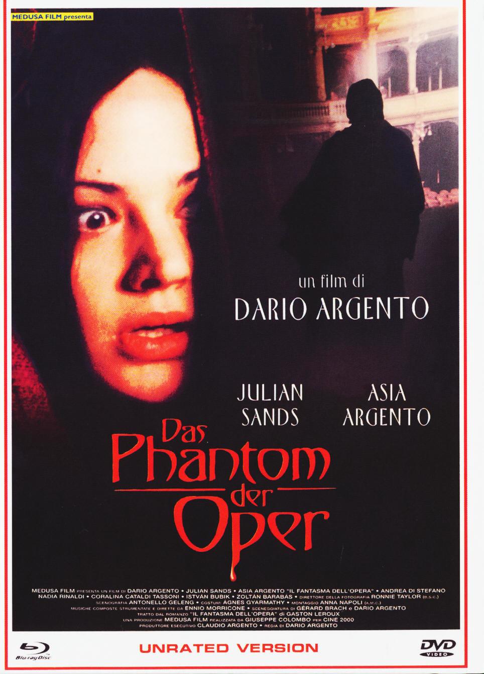 Das Phantom der Oper (1998) - (Unrated Version, Cover B, Limited Edition, Mediabook, Blu-ray & DVD)