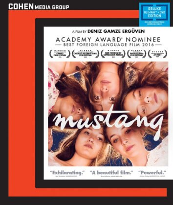 Mustang (2015) (Cohen Media Group, Deluxe Edition, Blu-ray + DVD)