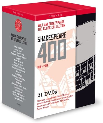 Shakespeare 400 (Opus Arte, Shakespeare's Globe, 21 DVD) - Globe Theatre