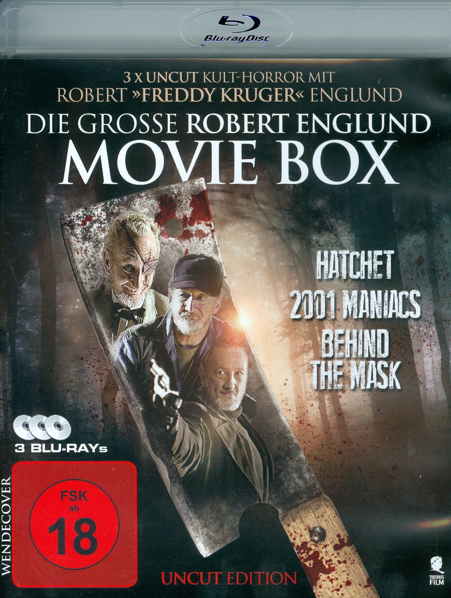 Die grosse Robert-Englund Movie Box - (Uncut, 3 Blu-rays)