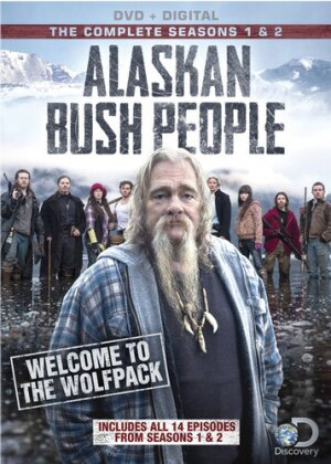 Alaskan Bush People - Season 1 & 2 (Discovery Channel, 3 DVDs)