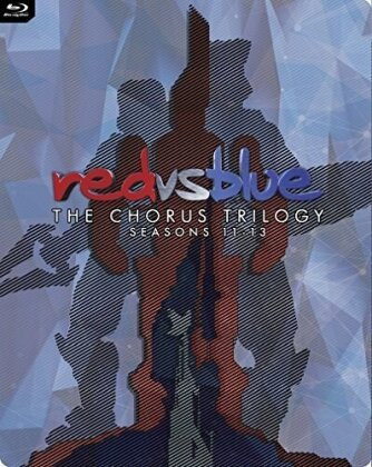 Red vs. Blue - The Chorus Trilogy: Seasons 11 - 13 (Steelbook, 3 Blu-rays)