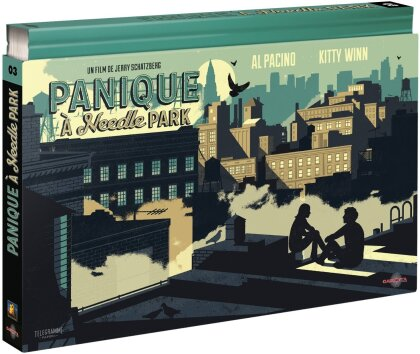 Panique à Needle Park (1971) (Collector's Edition, Blu-ray + 2 DVDs + Buch)