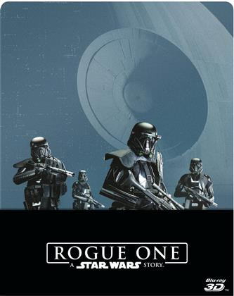 Rogue One - A Star Wars Story (2016) (Limited Edition, Steelbook, Blu-ray 3D + 2 Blu-rays)