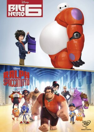 Big Hero 6 / Ralph spaccatutto (Limited Edition, 2 DVDs)