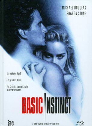 Basic Instinct (1992) (Cover A, Limited Collector's Edition, Mediabook, Blu-ray + DVD)