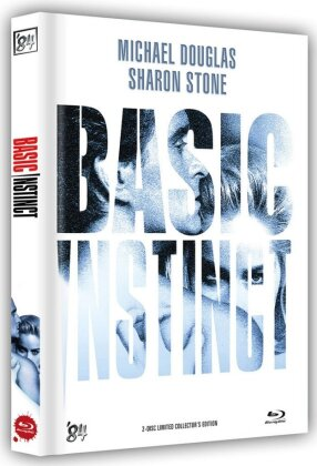 Basic Instinct (1992) (Cover B, Limited Collector's Edition, Mediabook, Blu-ray + DVD)