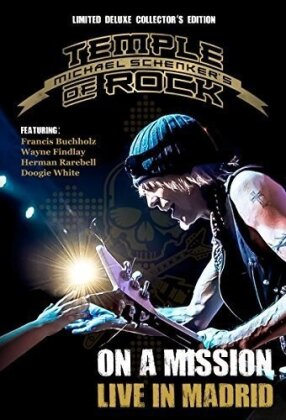 Michael Schenker - Temple of Rock - On a Mission - Live in Madrid (Deluxe Edition, Limited Collector's Edition, Mediabook, 2 Blu-rays + 2 CDs)