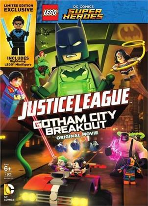 LEGO: DC Comics Super Heroes - Justice League: Gotham City Breakout (mit Figur, Gift Set, Limited Edition)