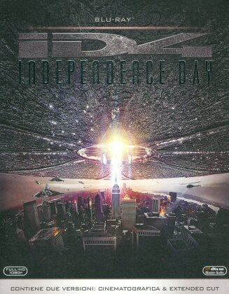 Independence Day (1996) (Extended Cut, Versione Cinema, Versione Rimasterizzata, 2 Blu-ray)