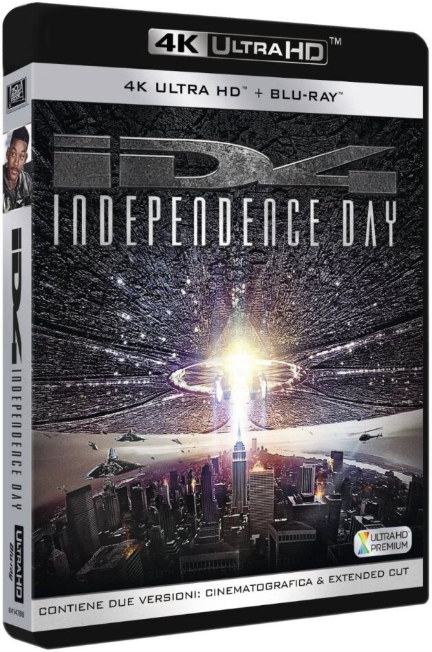 Independence Day (1996) (Remastered, 4K Ultra HD + 2 Blu-rays)