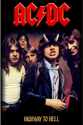 AC/DC - Highway To Hell Textile Poster