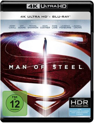 Man of Steel (2013) (4K Ultra HD + Blu-ray)