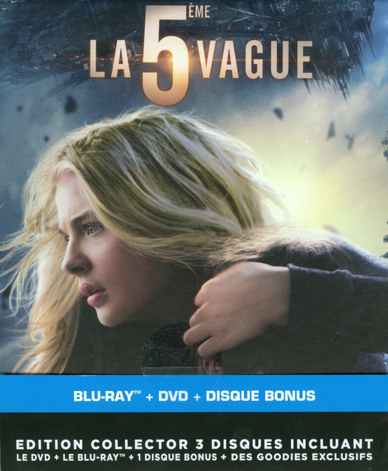 La 5ème vague (2016) (Goodies, Collector's Edition, Limited Edition, 2 Blu-rays + DVD)