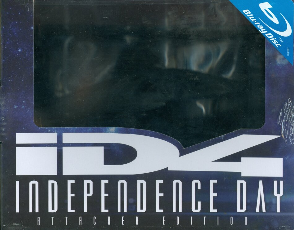 Independence Day (1996) (Coffret Collector Attacker Edition, Kinoversion, Limited Edition, Langfassung, 2 Blu-rays)