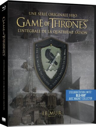 Game of Thrones - Saison 4 (avec Magnet Collector, Limited Edition, Steelbook, 4 Blu-rays)