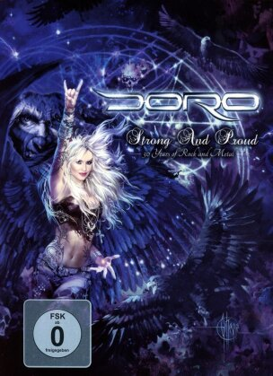Doro - Strong And Proud - 30 Years of Rock and Metal (Mediabook, 3 DVD)