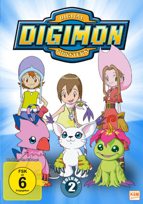Digimon: Digital Monsters - Adventure - Staffel 1 - Vol. 2 (3 DVDs)