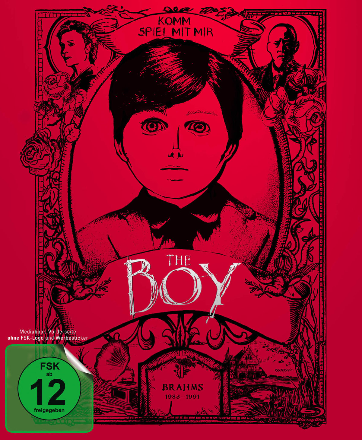 The Boy (2016) - (Limited Collector's Edition, Mediabook, Blu-ray & DVD)