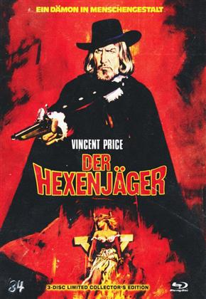 Der Hexenjäger (1968) (Cover A, Collector's Edition Limitata, Mediabook, Blu-ray + 2 DVD)