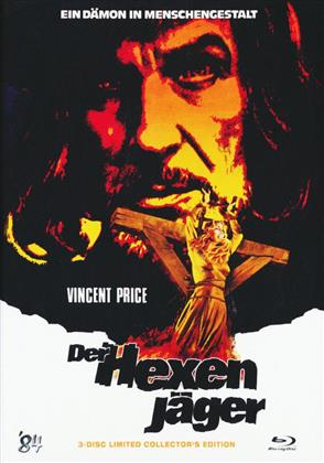 Der Hexenjäger (1968) (Cover B, Collector's Edition Limitata, Mediabook, Blu-ray + 2 DVD)