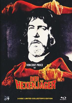 Der Hexenjäger (1968) (Cover C, Collector's Edition Limitata, Mediabook, Blu-ray + 2 DVD)
