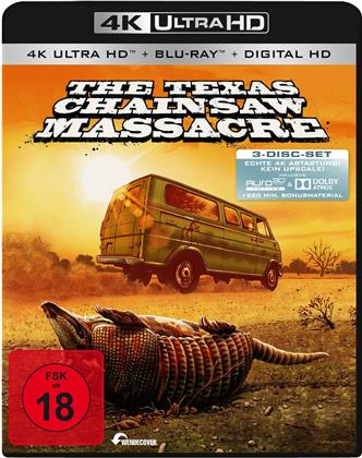 The Texas Chainsaw Massacre (1974) (4K Ultra HD + 2 Blu-rays)