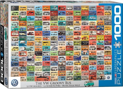 The VW Groovy Bus - Puzzle