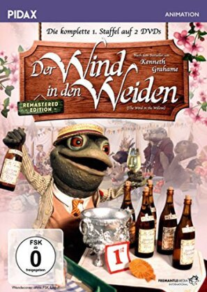 Der Wind in den Weiden - Staffel 1 (Pidax Animation, Remastered, 2 DVDs)